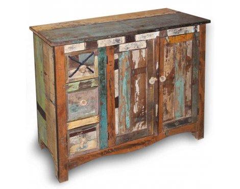 Shankar New England Reclaimed Timber Medium Sideboard