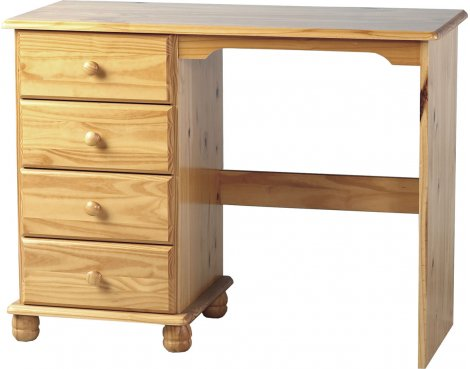ValuFurniture Sol Dressing Table - Antique Pine