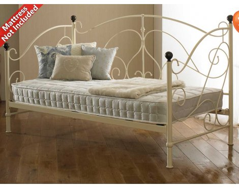 Sareer Milano Cream Day Bed