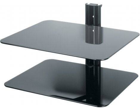 AVF Universal Double Equipment Shelf - Black