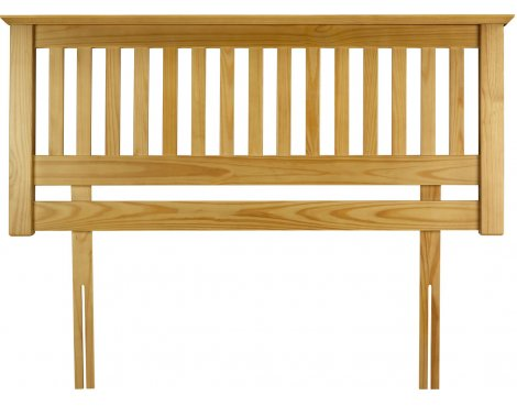 Julian Bowen Barcelona Solid Pine Headboard - Double