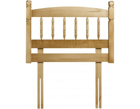 Julian Bowen Pickwick Solid Pine Headboard - Double