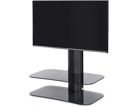 "Off-The-Wall ARC ST 800 Smoked Glass & Black TV Stand for up to 50"" TVs"