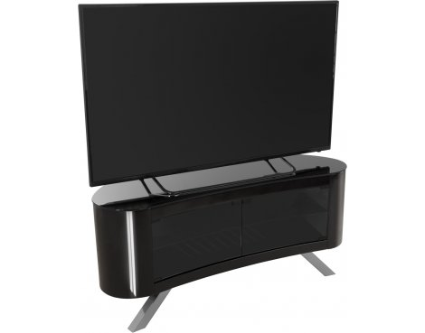 "AVF Bay Curved TV Stand For up to 55"" TVs - Black"