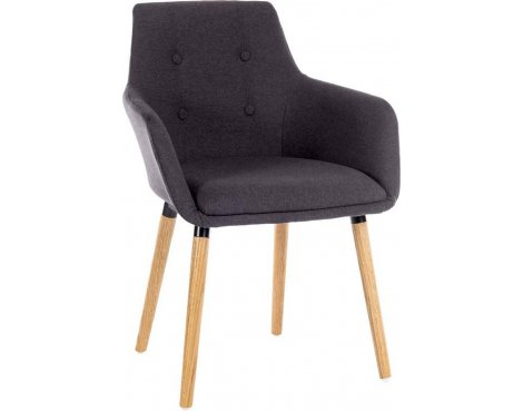 DSK Graphite Pair of Reception Chairs