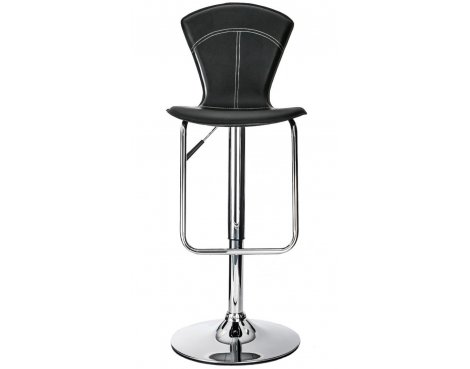 Alphason Virginia High Back Black Barstool
