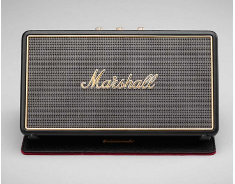 Marshall Stockwell Bluetooth Portable Speaker With Case