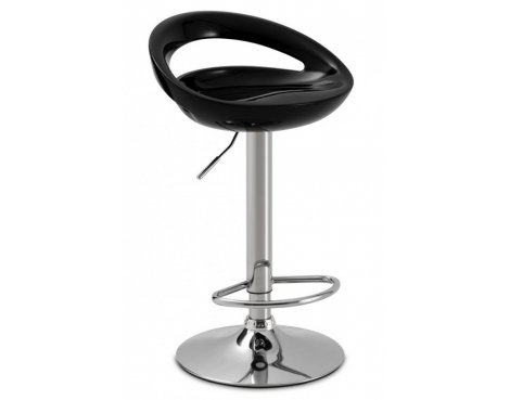 Julian Bowen Byron Black High Gloss Bar Stool