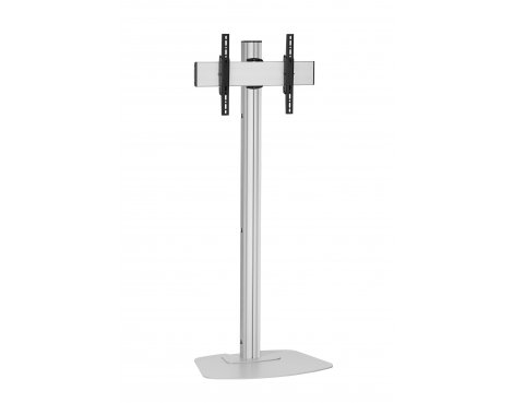 "Vogels F1844S Single Pole Floor Stand For up to 65"" TVs - 1.8m - Silver"