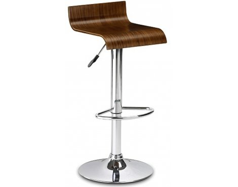 Julian Bowen Stratos Stool - Walnut Seat