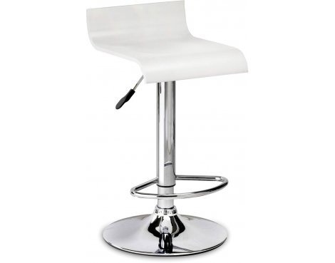 Julian Bowen Stratos Stool - White Seat