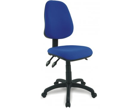 DSK Java 300 Blue High Back Task Operator Chair