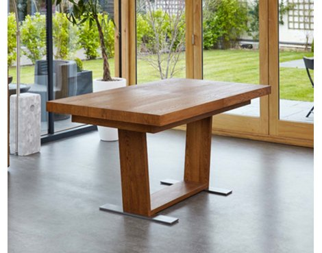Baumhaus Olten - Extending Dining Table in Oak Finish