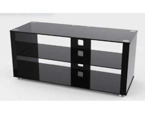 TNW Elegance 1000 Gloss Black  TV Stand