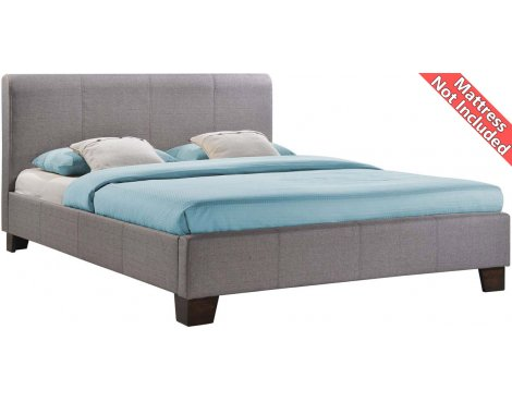 Birlea Furniture Brooklyn Fabric Bed Frame - Small Double 4ft - Grey