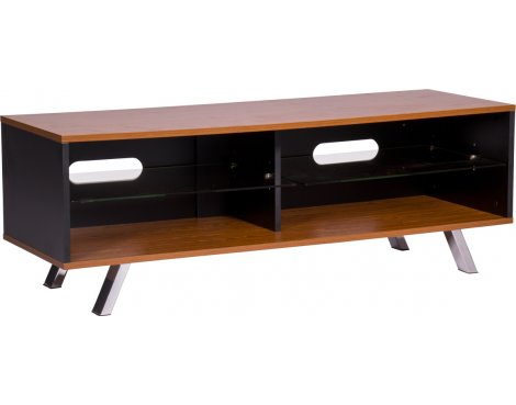 "MMT Vegas 1200 Walnut TV Stand for up to 60"" TVs"