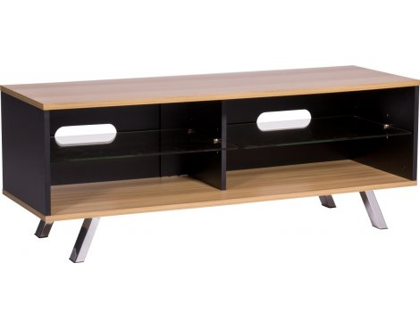 "MMT Vegas 1200 Oak TV Stand for up to 60"" TVs"