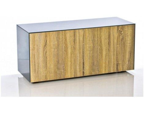 "Frank Olsen INTEL1100GRY-OAK Grey TV Cabinet For TVs Up To 55\"""