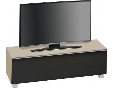 "Maja Sand Matt Glass TV Stand for up to 70"" TVs"