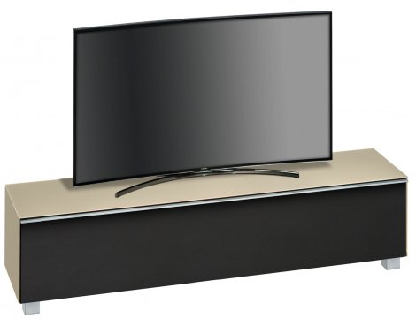 "Maja Sand Matt Glass TV Stand for up to 80"" TVs"