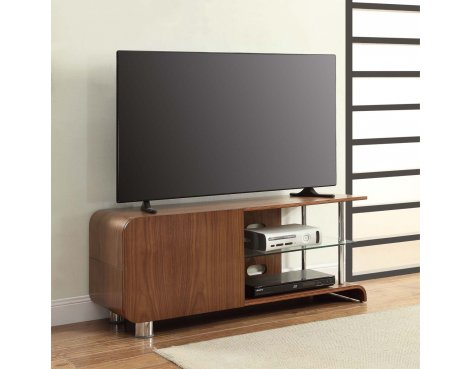 "Jual BS202 Walnut TV Stand for up to 55"" TVs"