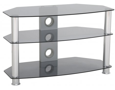 ValuFurniture Classik 800 Smoked Glass TV Stand