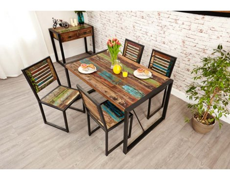 Baumhaus IRF04A Urban Chic Small Dining Table