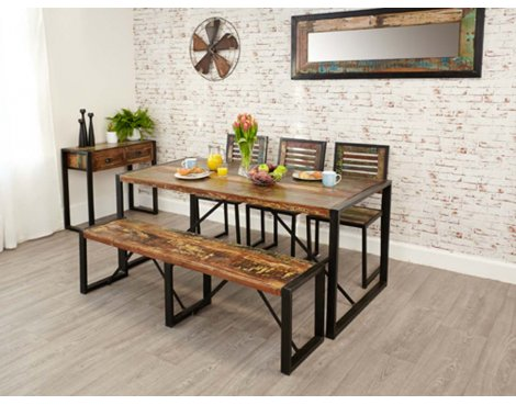 Baumhaus IRF04B Urban Chic Large Dining Table