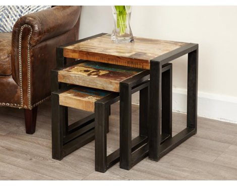 Baumhaus IRF08A Urban Chic Nest of Tables