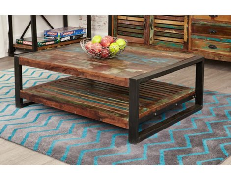 Baumhaus IRF08D Urban Chic Rectangular Coffee Table