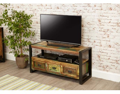 Baumhaus IRF09B Urban Chic Television Cabinet