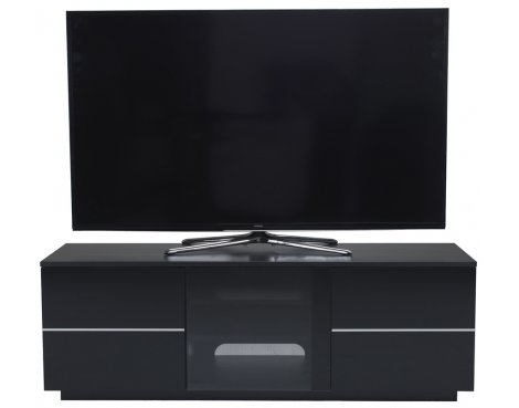 UK-CF New London Black TV Stand for up to 65""
