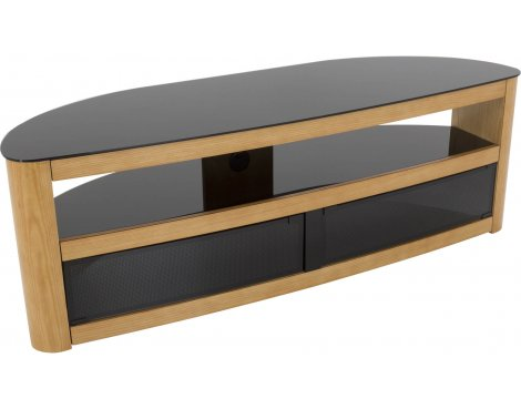 "AVF Burghley FS1500BURO Oak TV Stand for up to 70"" TVs"