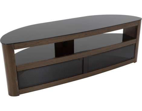 """AVF Burghley FS1500BURW Walnut TV Stand for up to 70\"""" TVs"""