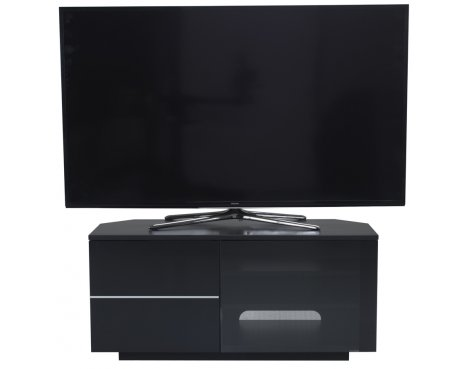 """UK-CF New Tokyo Black TV stand for up to 55\"""" TVs"""