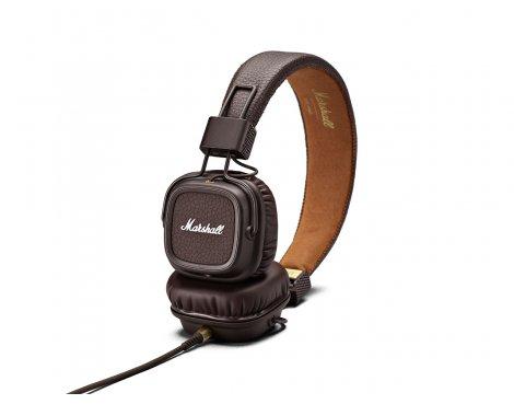 Marshall Major II On-Ear Headphones Brown