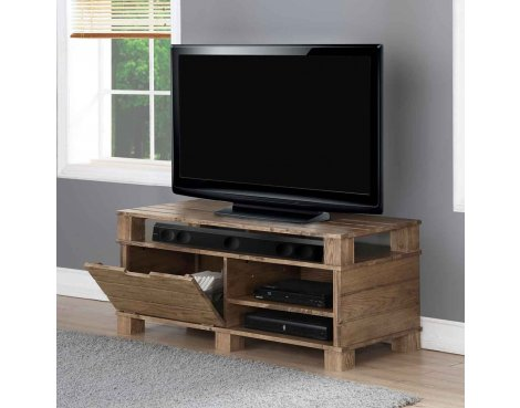 """Jual Solid Wood Rustic Oak TV Stand for up to 55\"""" TVs"""