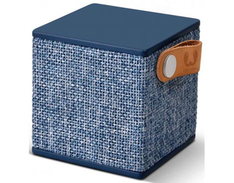 Fresh \'n\' Rebel Indigo Rockbox Cube Fabriq Bluetooth Speaker