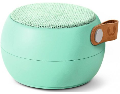 Fresh \'n\' Rebel Peppermint Rockbox Round Fabriq Bluetooth Speaker