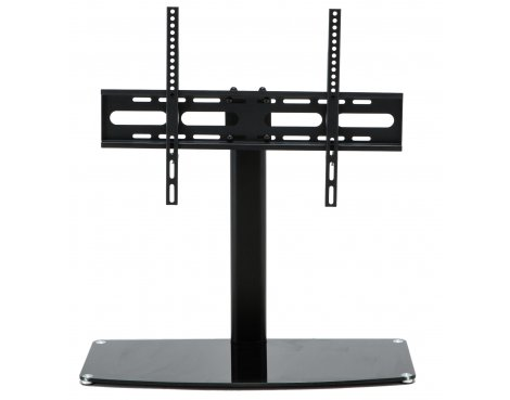 """Stealth Mounts SM-17 Universal Replacement Black Table Top TV Stand for up to 65\"""" TVs"""