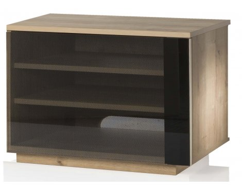 """UK-CF New Barcelona Oak  TV Stand For TVs Up To 42\"""""""