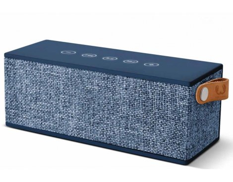 Fresh \'n\' Rebel Rockbox Brick Fabriq Indigo Blue Bluetooth Speaker