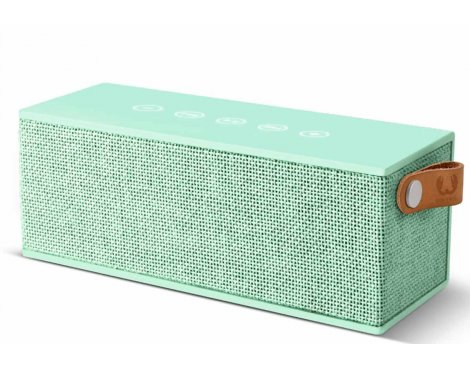 Fresh \'n\' Rebel Rockbox Brick Fabriq Peppermint Bluetooth Speaker