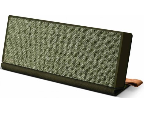Fresh \'n\' Rebel Rockbox Fold Fabriq Army Green Bluetooth Speaker