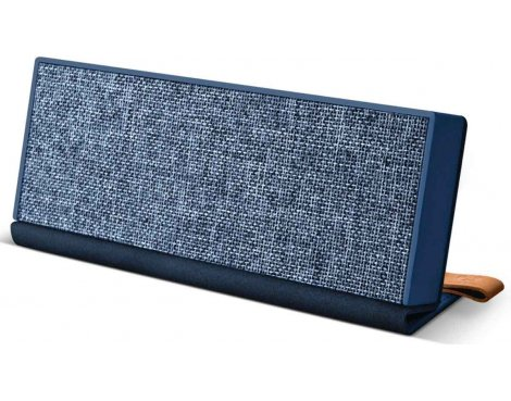 Fresh \'n\' Rebel Rockbox Fold Fabriq Indigo Blue Bluetooth Speaker