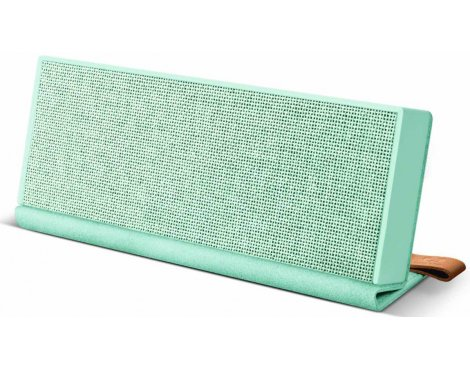 Fresh \'n\' Rebel Rockbox Fold Fabriq Peppermint Bluetooth Speaker