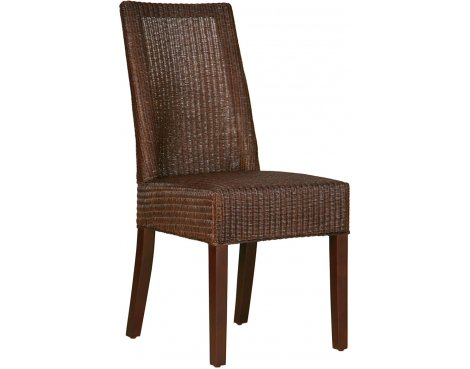 Ultimum Husk Loom Dining Chair - Brown