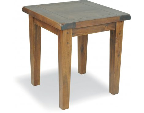 Ultimum Hazel Wooden Lamp Table - Stained Wood