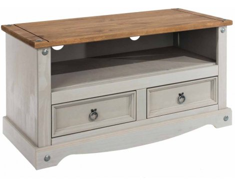 """Core Products Corona Grey Flat Screen TV Unit for up to 50\"""" TVs"""