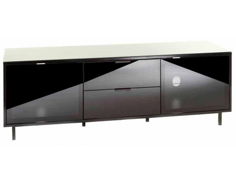 "MMT Stratos Black TV Stand for up to 65"" TVs"